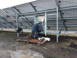 Подключение блока защиты СЭС 1.7 МВт, Эко Про плюс