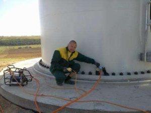 Подготовка к запуску ветровой турбины 2 МВт, Эко Про плюс