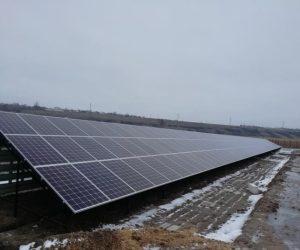 Наземная СЭС 115 кВт с. Харчатовка, Эко Про плюс