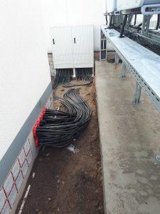 Ввод силовых кабелей, портфолио Эко Про плюс