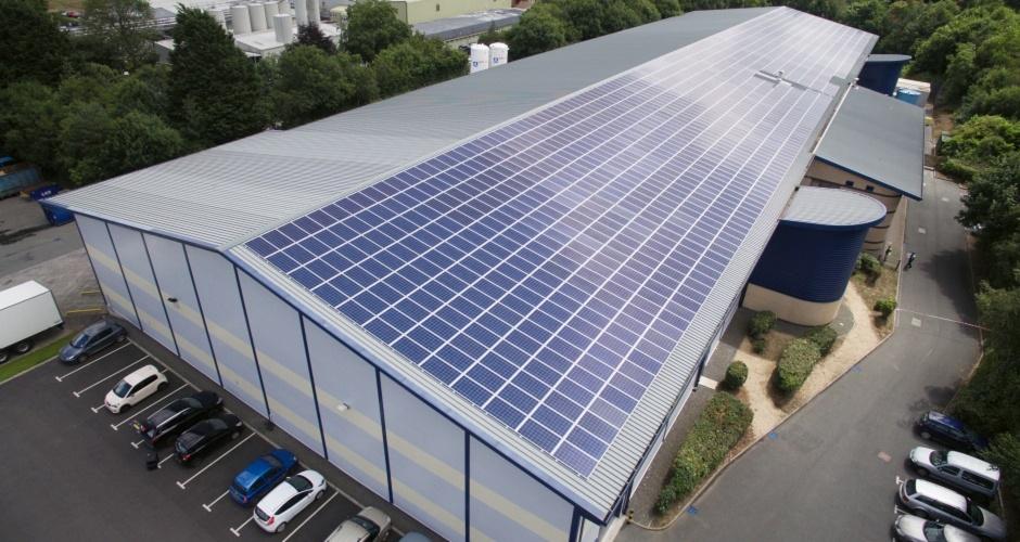 Гибридная промышленная солнечная электростанция 500 кВт