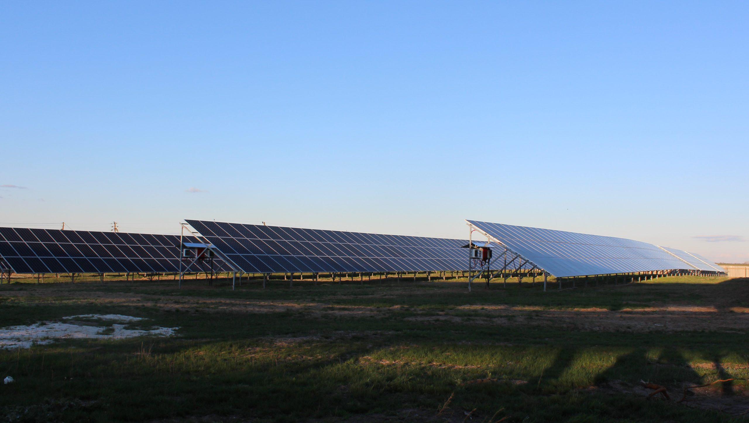 Промышленная сетевая солнечная станция 1,3 МВт для бизнеса