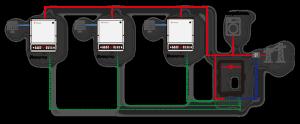 Блок схема сетевой СЭС 104 кВт
