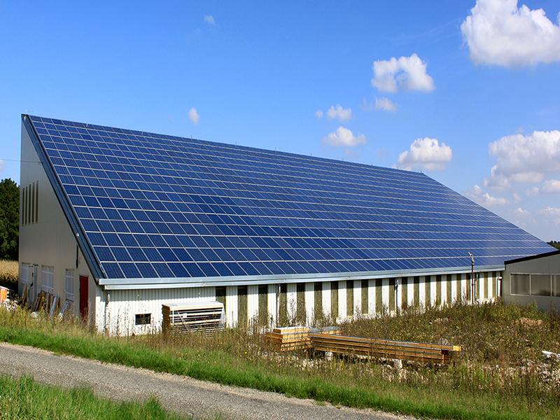 Монтаж промышленной солнечной электростанции мощностью 104 кВТ, промышленная СЭС Николаев, Херсон.
