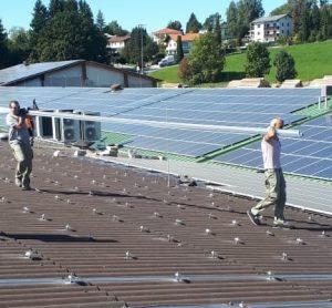 Монтаж СЭС 1.2 МВт в Германии, Эко Про плюс
