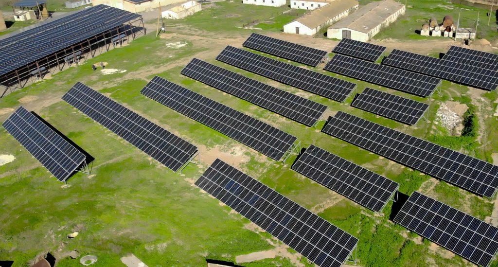 Монтаж наземной промышленной СЭС 1 МВт, Эко Про плюс